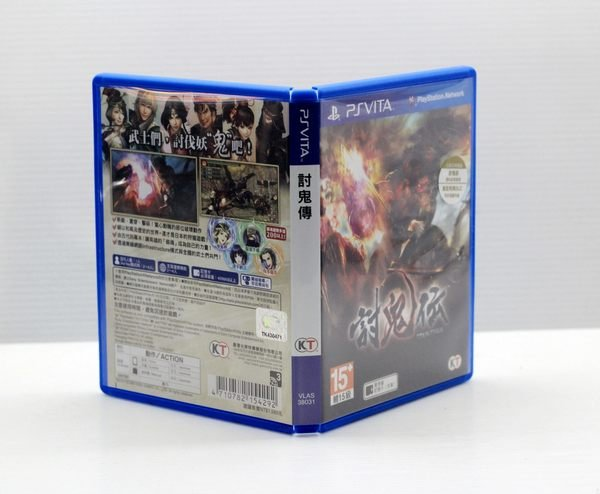 【橙市青蘋果】PS Vita PSV 二手 遊戲片 討鬼傳 日文版 # 00257