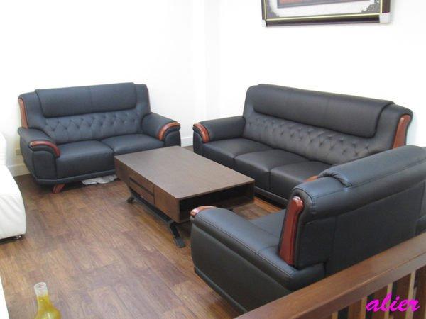 【肯萊柚木傢俱館】客製化 功能 1+2+3人座沙發 時尚 厚牛皮 特價促銷#
