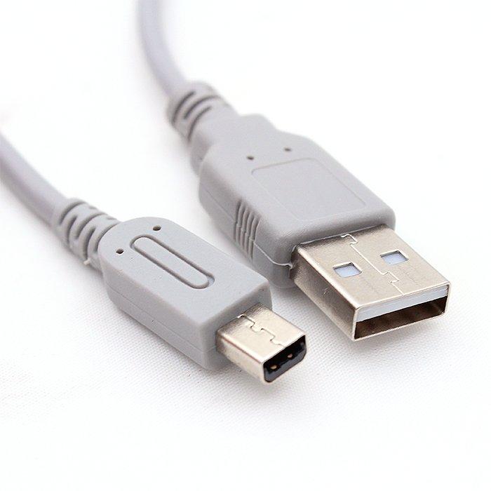 傑仲 (有發票) 3DS LL 2DS USB充電線(可支援2.0充電器)