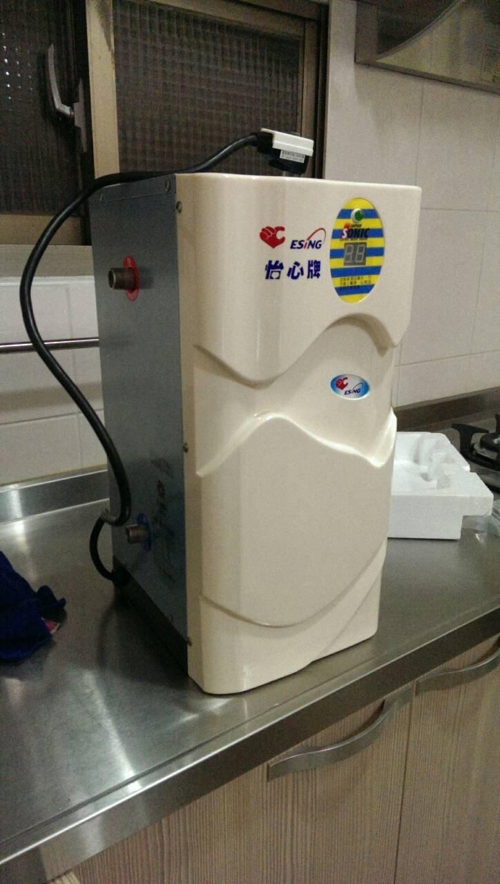 實際安裝~怡心牌ES-309洗碗專用110V瞬(即)熱式電能熱水器1台~含基本安裝~全新電熱水器1台 ES309 洗碗