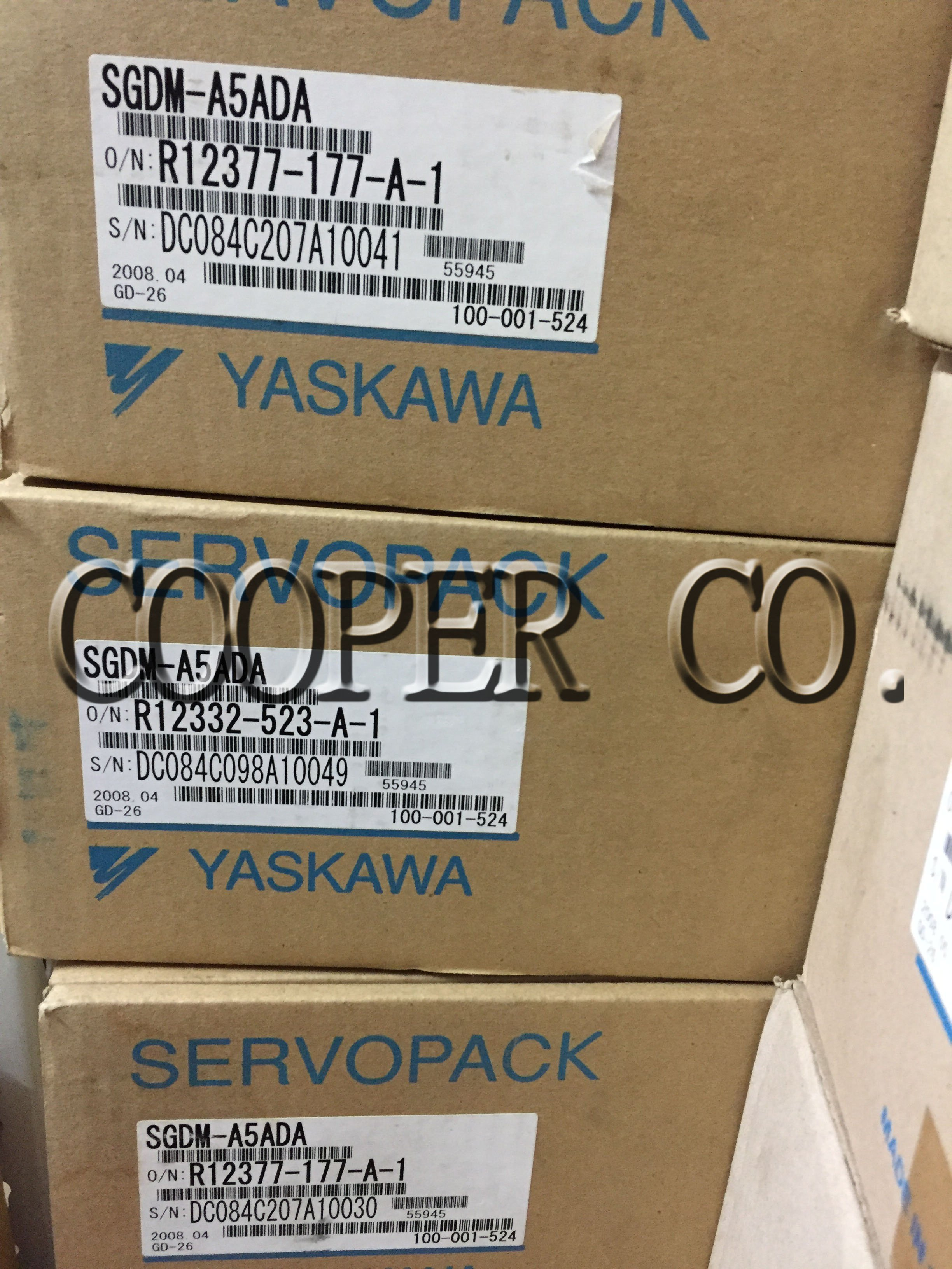 YASKAWA SERVOPACK SGDM-A5ADA 伺服驅動控制器停產品中古全新品現貨銷售維修