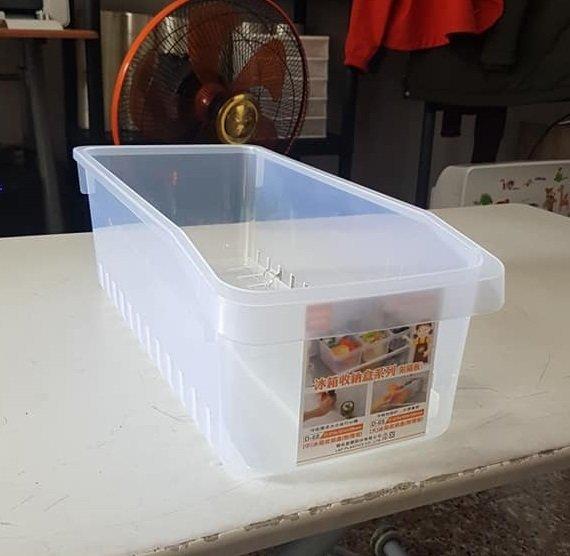 小毛收納館『KEYWAY D69大冰箱收納盒 附隔板』含稅開發票 聯府 冰箱收納 瀝水 好拿取