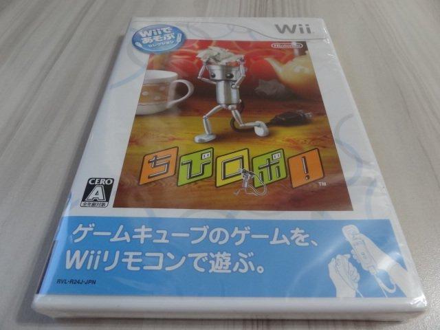 (2件免運)WII~以WII遊玩 小小機器人 (全新日版)