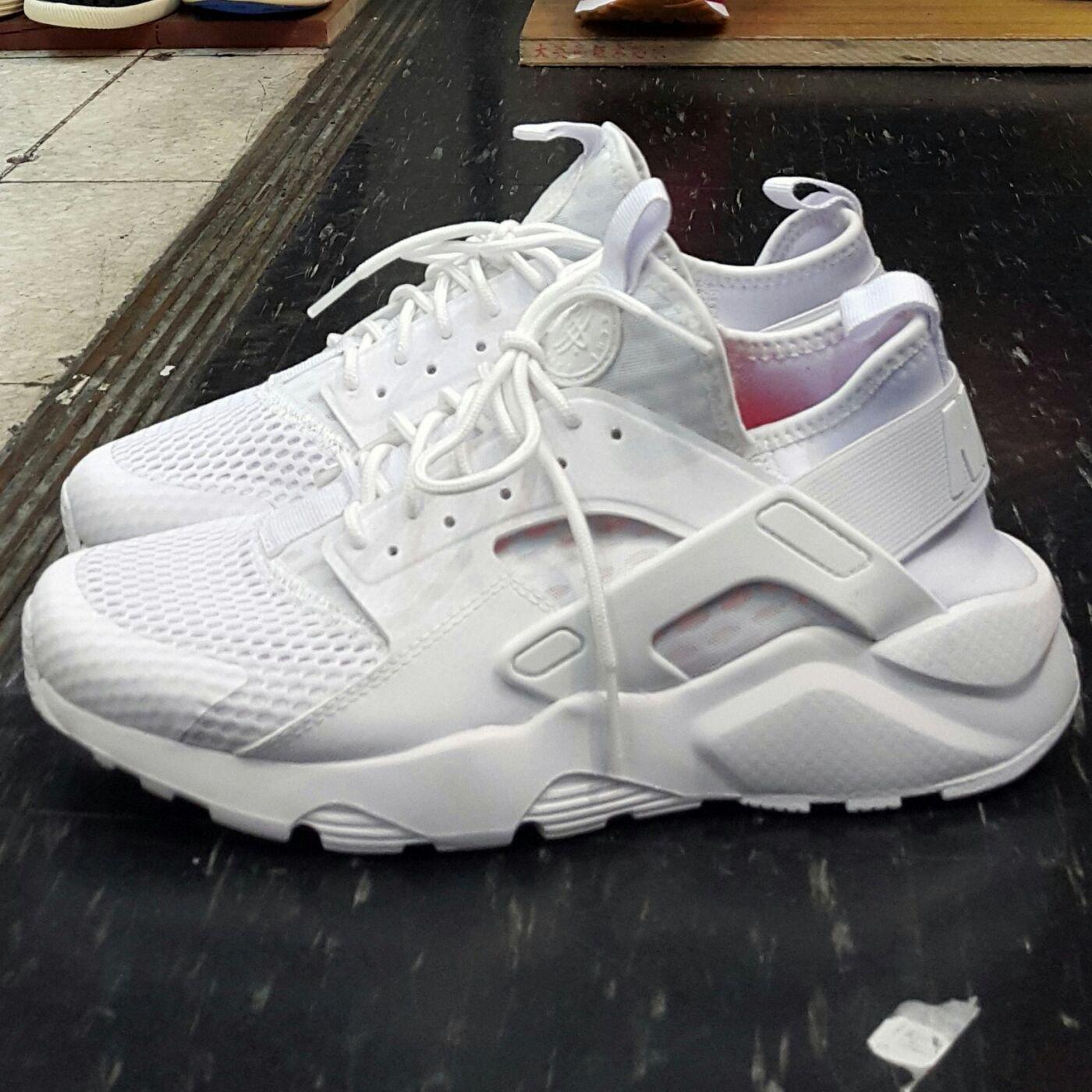NIKE AIR HUARACHE RUN ULTRA BR 白色 全白 白武士 武士鞋 2代 833147-100