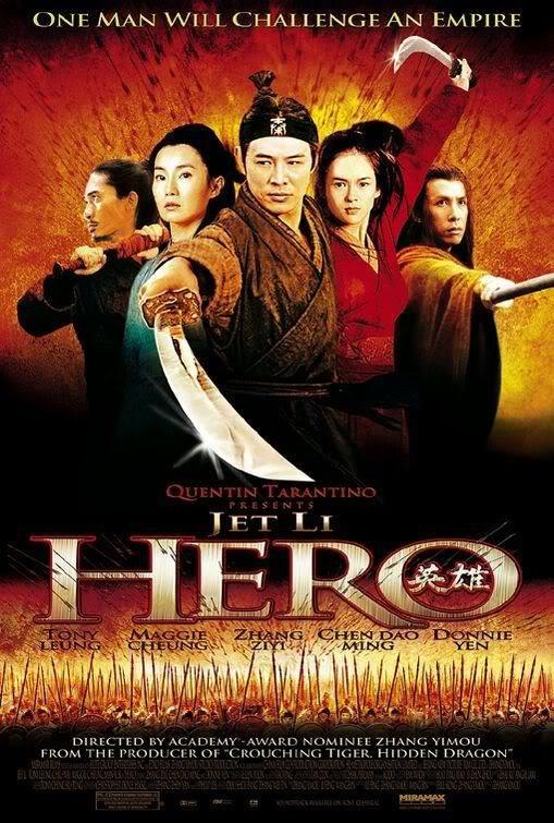 英雄-Hero (2002) 電影海報