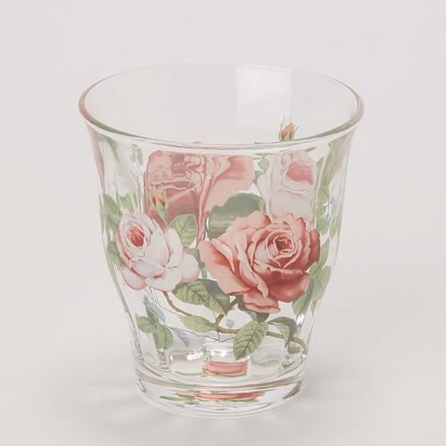 日本【英蘭玫瑰 English Rose】冰咖啡杯