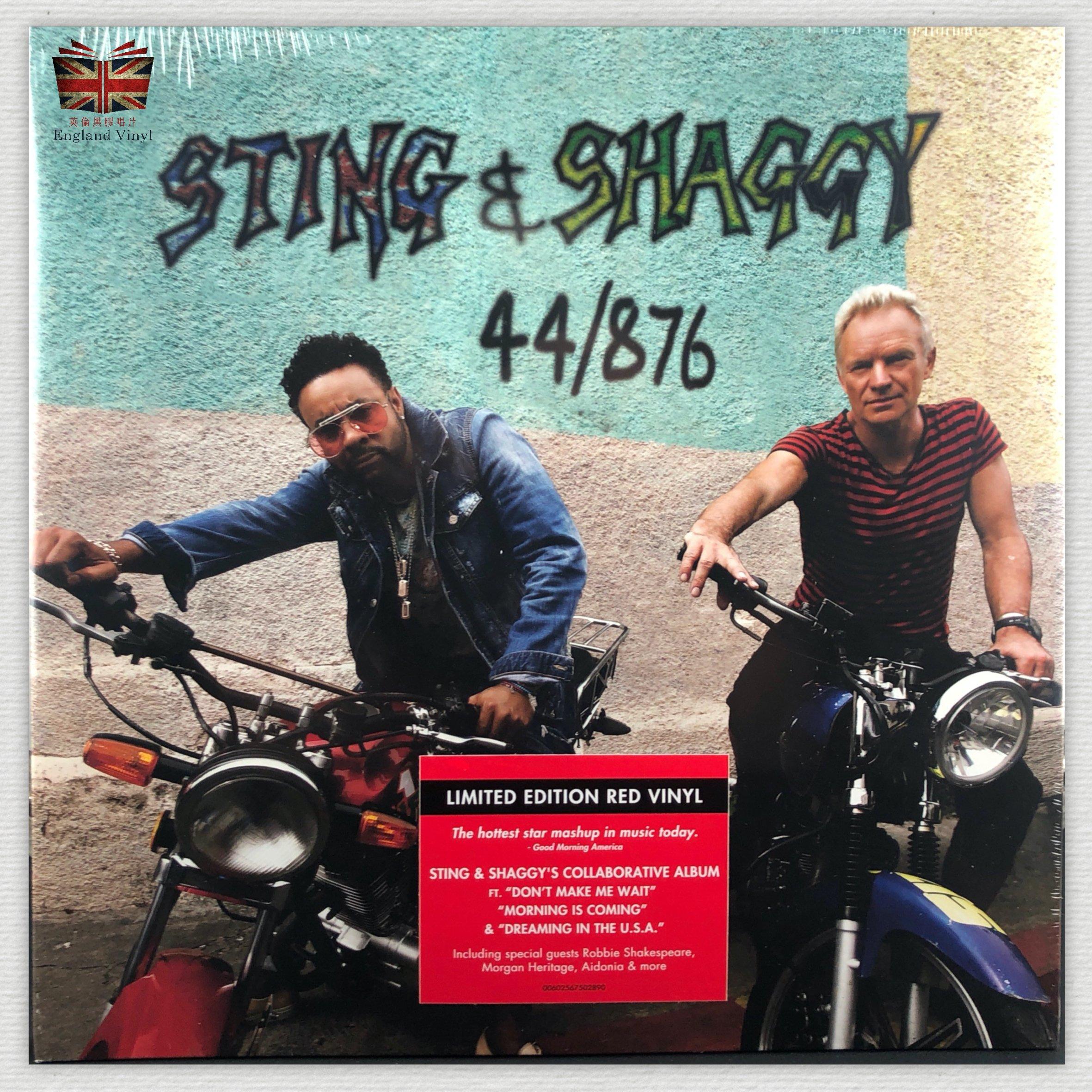 [英倫黑膠唱片Vinyl LP] 史汀、夏奇 / 44/876 Sting & Shaggy