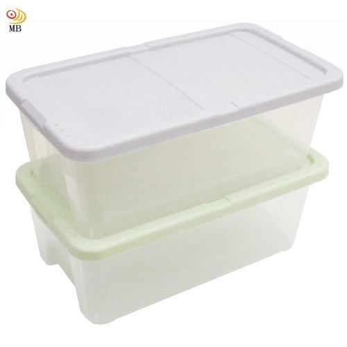 免運月陽多用途半透明鞋盒收納盒整理盒 2入(PP8)