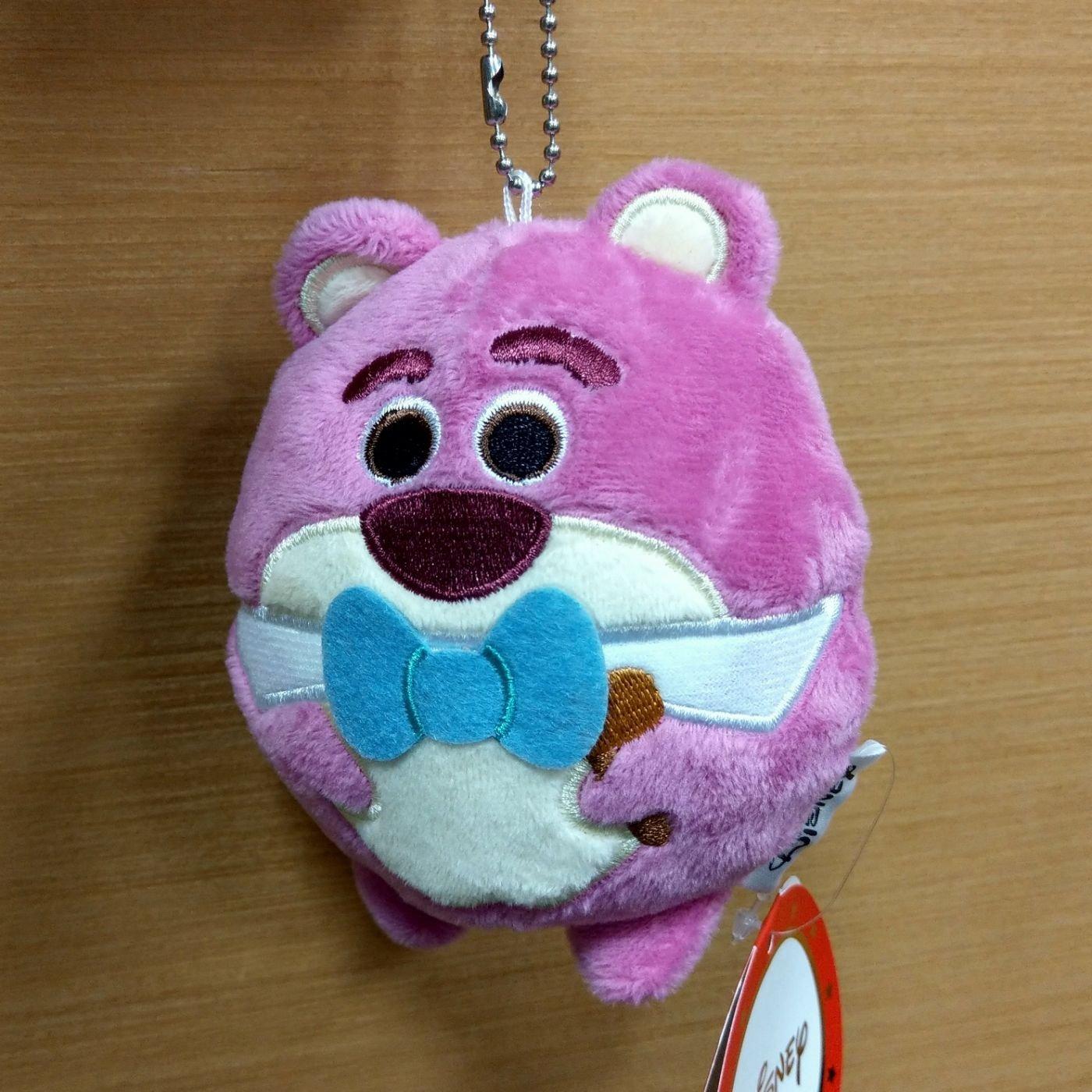 11公分 圓滾滾 玩具總動員 熊抱哥 珠鍊吊飾 絨毛玩偶 迪士尼  天天好心情