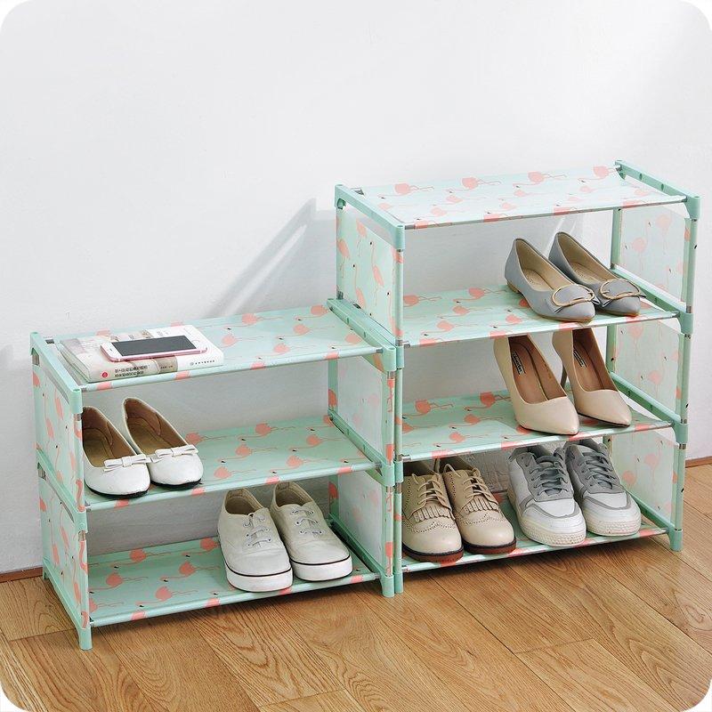 居家優思居 多層簡易鞋架 家用組裝經濟型鞋子收納架學生宿舍鞋架