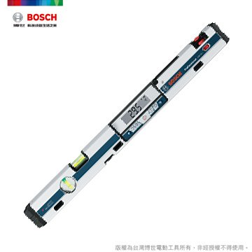 博世 GIM 60L 專業 數位水平尺(雷射)GIM60L - 原廠保固  未稅