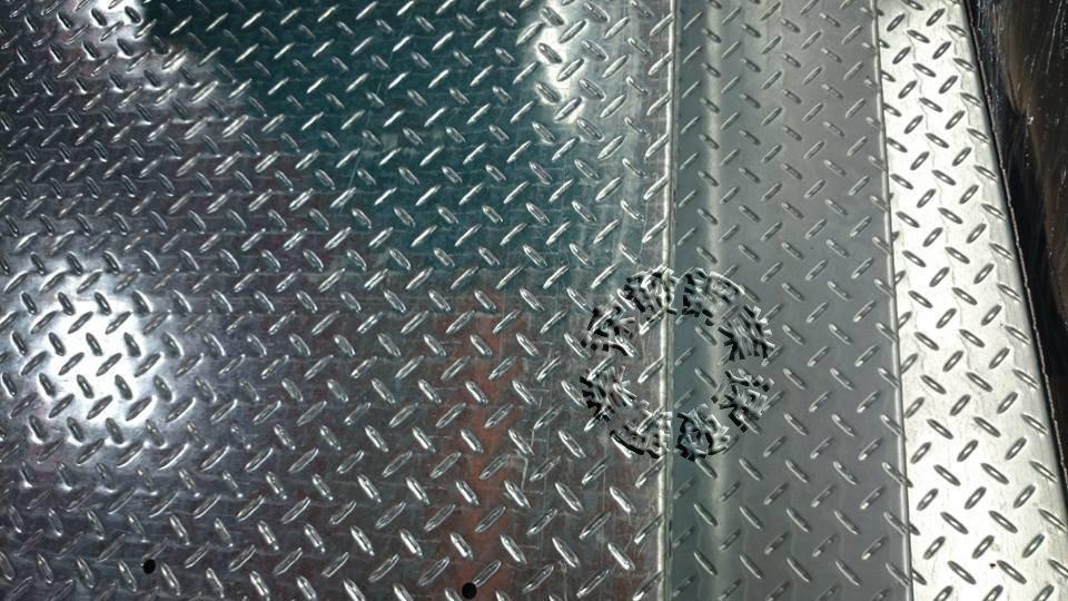 速發~花紋鍍鋅板~止滑板~台階~走道斜板~蓋板~樓梯板~平台腳踏板~水溝蓋~DIY~封板除臭氣(免費設計)