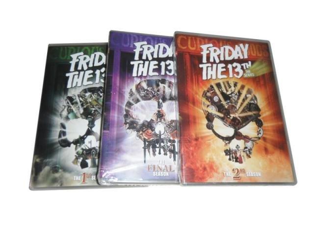 外貿影音 十三號星期五 1-3季 Friday the 13th DVD 高清美劇碟片 未刪減(現貨不帶封面包裝)