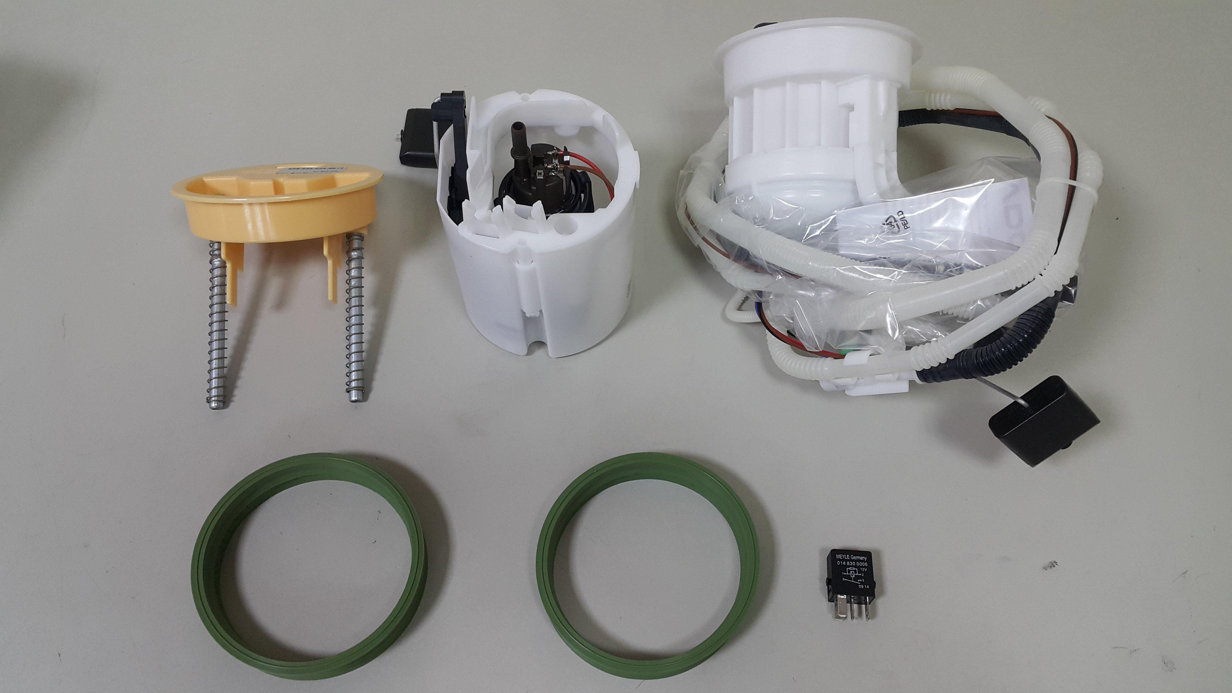 BENZ W211 汽油幫浦 汽油泵浦+濾清器+墊片+繼電器 油箱浮筒 油表 油錶 VDO製 2114704194