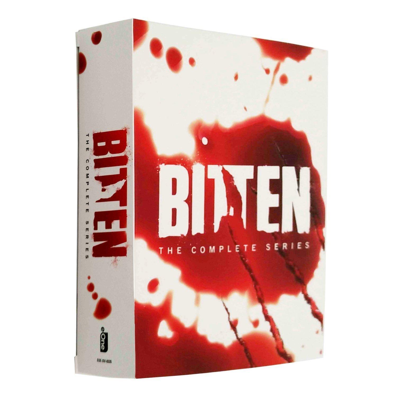 【優品音像】 原版美劇DVD Bitten 隱世狼女/狼女1-3季 完整版 10碟裝DVD 精美盒裝