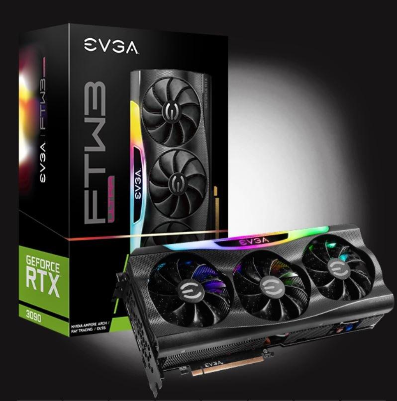 (售完)EVGA RTX 3090 FTW3 ULTRA GAMING 購買日期:9/27