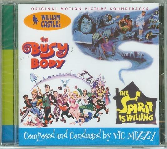 Busy Body/Spirit is Willing- Vic Mizzy,全新美版