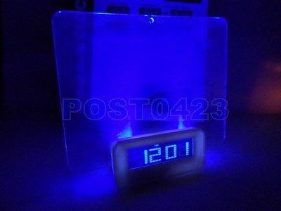 ㊣元相量販㊣MESSAGE BOARD CLOCK留言板時鐘 LED顯影板 年月日/時鐘/溫度/鬧鐘/留言提示