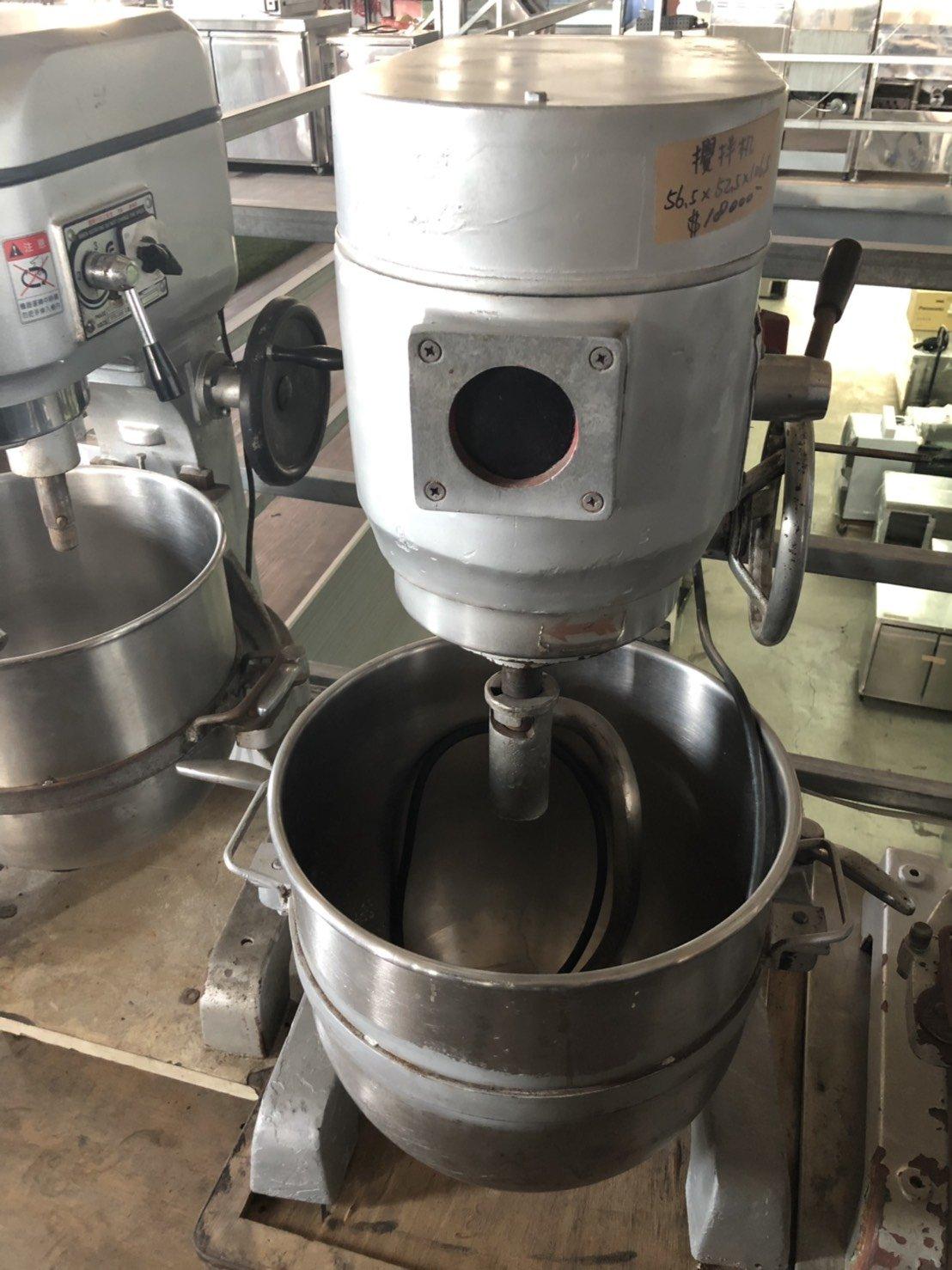 達慶餐飲設備 八里二手倉庫 二手商品    飼料用三貫30公升落地攪拌機