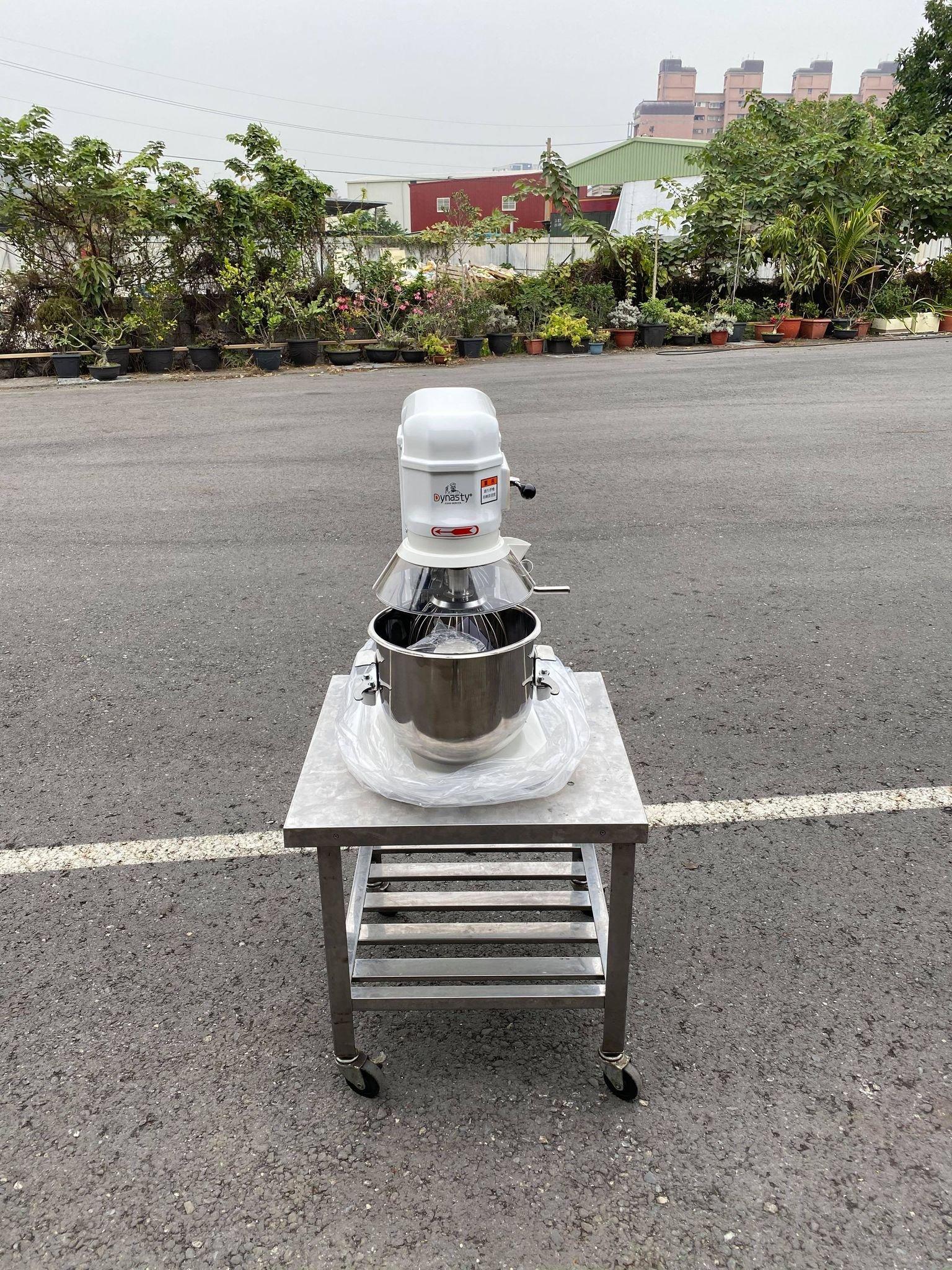 全新小林桌上型攪拌機12公升含安全網
