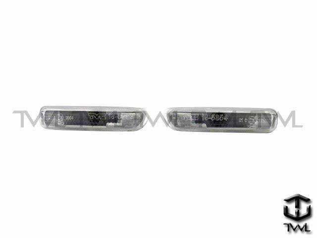 《※ 之光※》 BMW E46 98 99 00 01 02年高 全白側燈 製