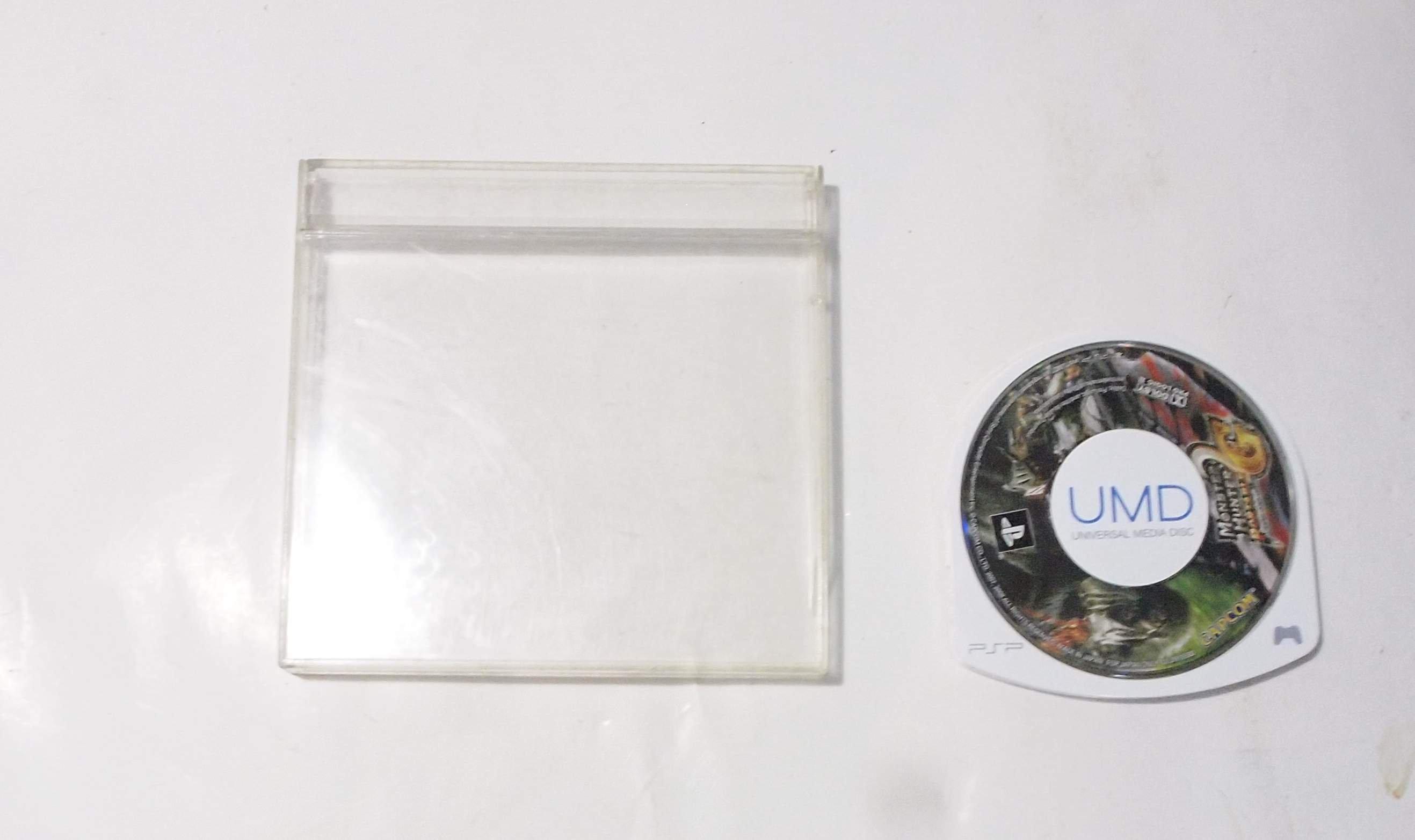 二手,PSP UMD遊戲片,怪物獵人2G /日文版