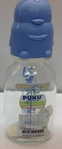 PUKU 日式玻璃奶瓶130cc 1入