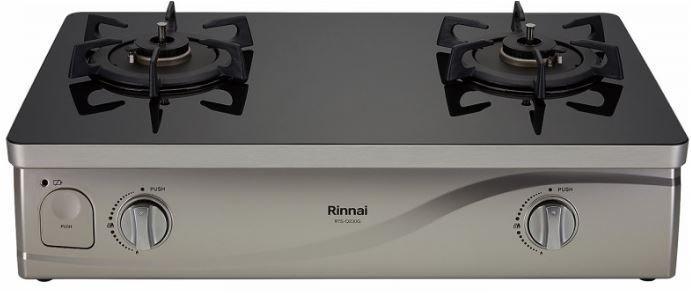 《日成》林內牌 台爐式感溫二口爐 RTS-Q230G(B)