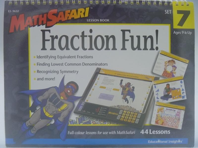 【月界二手書店2】MATH SAFARI-Fraction Fun!_Ages 9 & Up 〖少年童書〗AEP