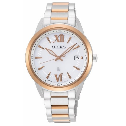 可議價.「1958 鐘錶城」SEIKO精工錶 LUKIA 時尚簡約廣告款太陽能腕錶SUT390J1/33.9mm