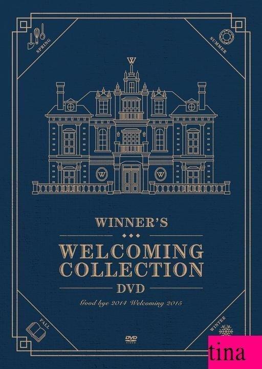 Winners Welcoming韓版DVD [Good Bye 2014 - Welcoming 2015] 一般版