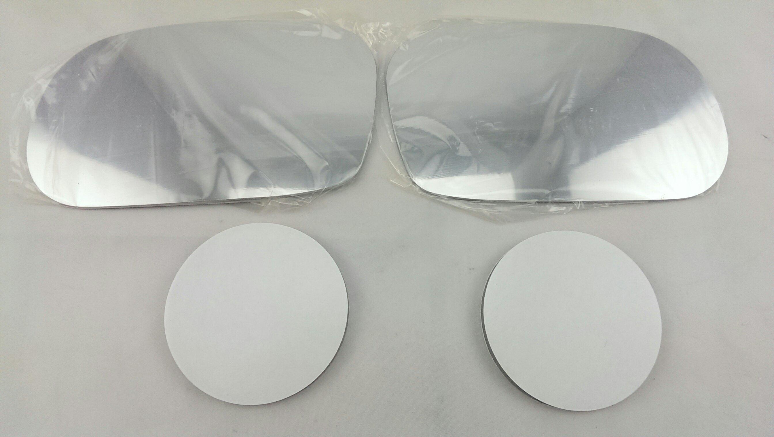 *HDS*速霸陸 IMPREZA(台規) 硬皮鯊 白鉻鏡片(一組 左 右 貼黏式) 後視鏡片 後照鏡片 後視鏡玻璃
