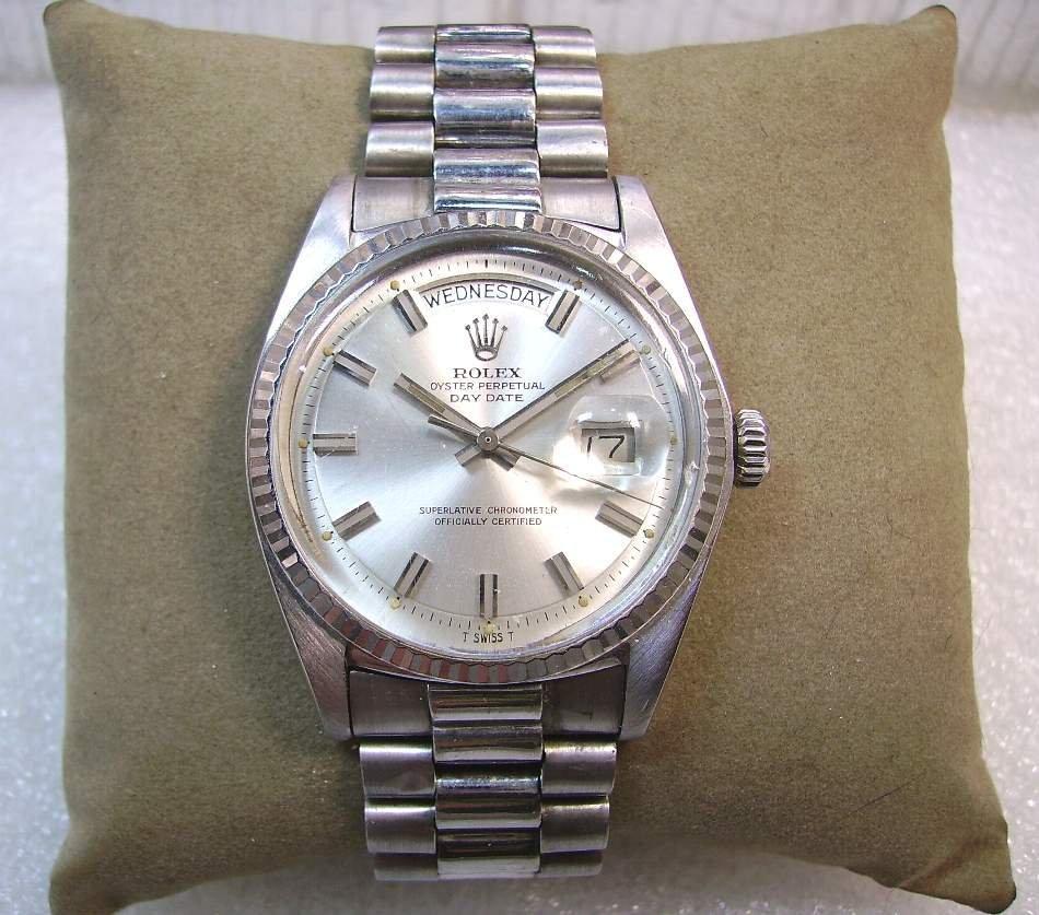 Rolex勞力士 ~ 白k 1803 DAY-DATE ~ 18白K金古董錶