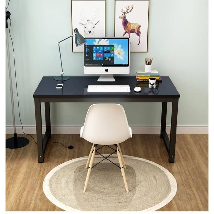 木桌雙人辦公桌電腦書桌簡約80學習桌100/120/140長40/50/60/70cm-晴景街