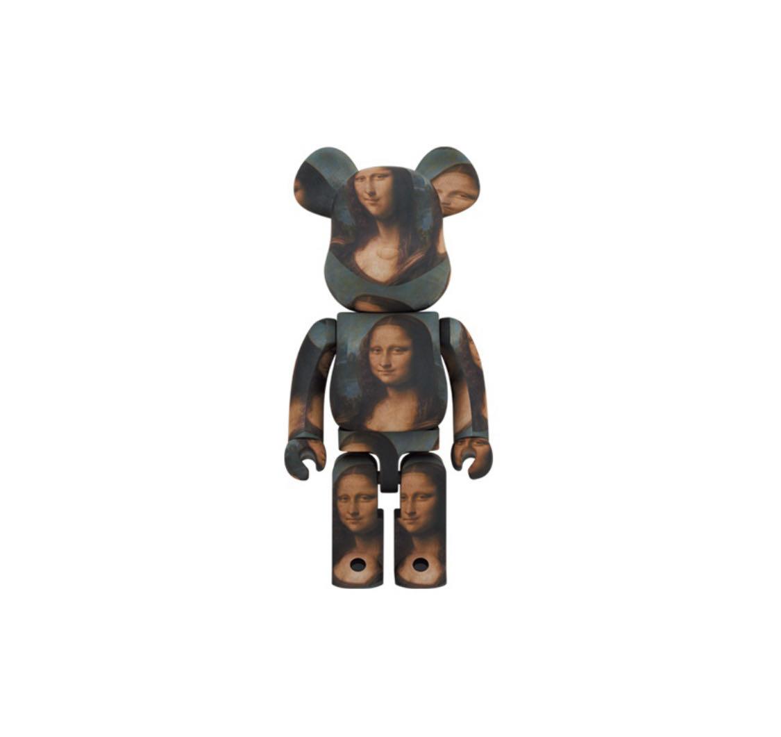 Be@rbrick Mona Lisa 蒙娜麗莎 1000% 積木熊 庫柏力克熊