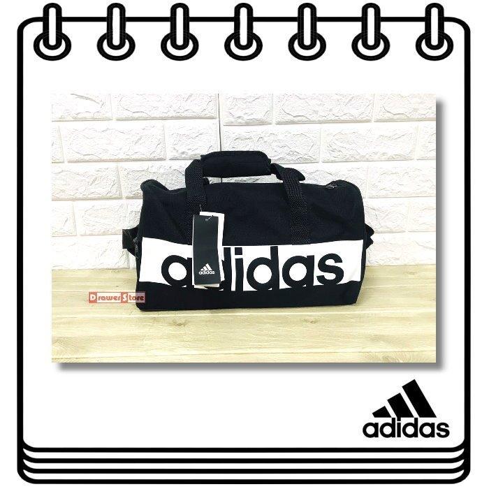 【DRAWER】Adidas Linear Team Bag XS 黑色 行李袋 愛迪達 手提包 旅行袋S99950