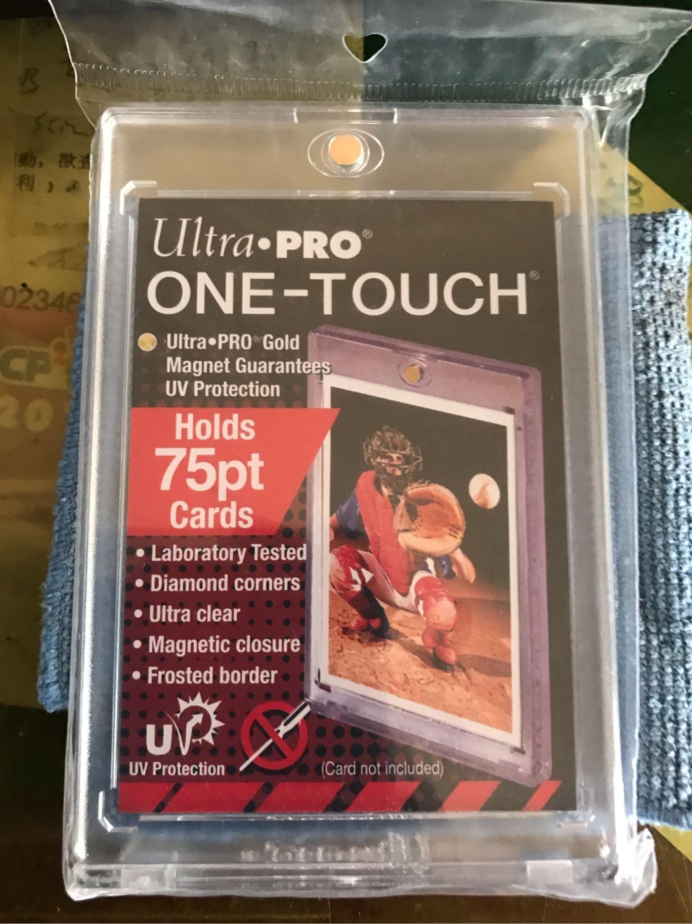 Ultra Pro 75PT 抗UV磁吸式卡夾 中華職棒球員卡 遊戲王 寶可夢PTCG 漫威 甲蟲王者 NBA MLB