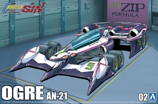 正版 青島 1/24 閃電霹靂車 AOI OGRE AN-21 凰呀 新規版 CIRCUIT MODE 全新現貨