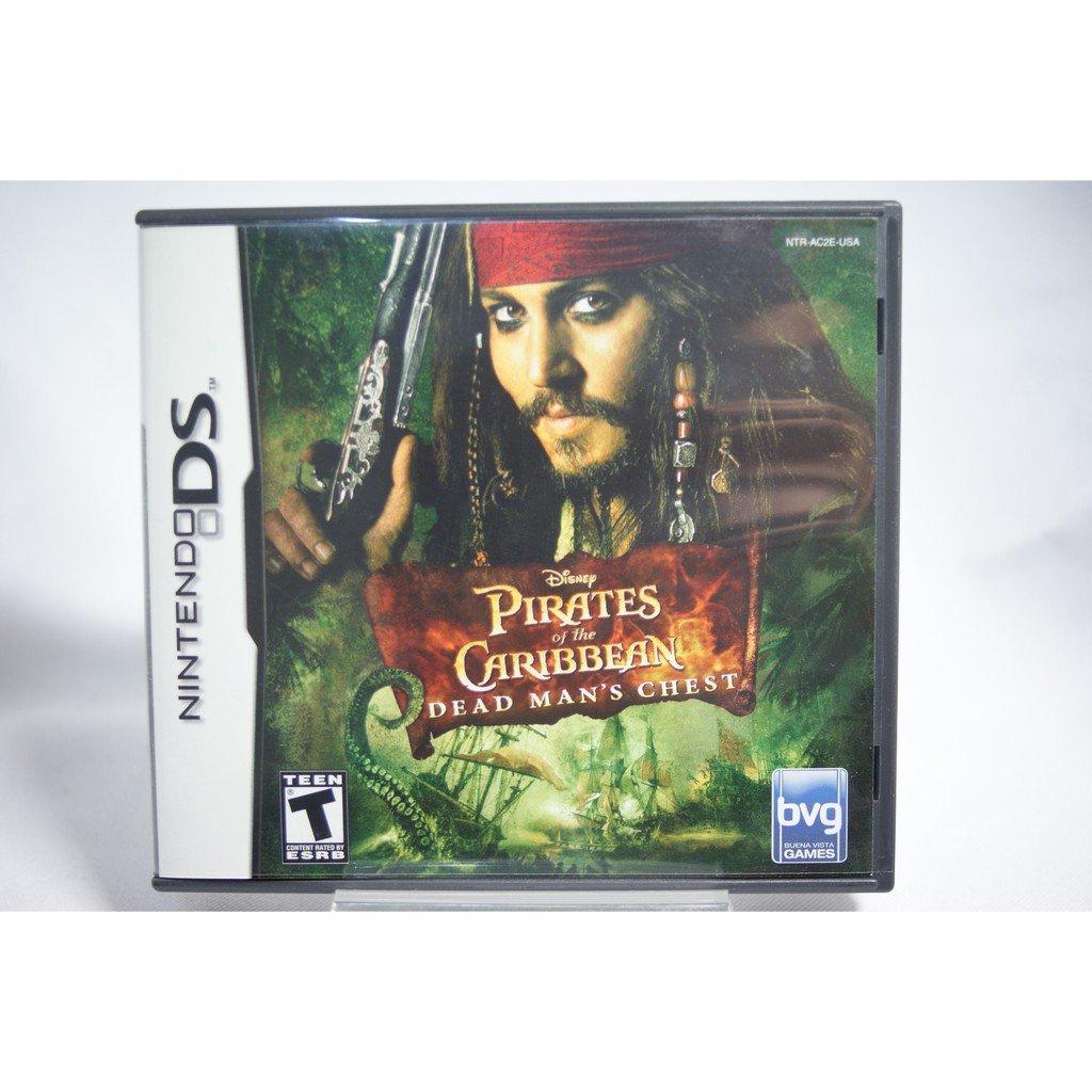 [耀西]二手 美版 任天堂 DS NDS 神鬼奇航2:加勒比海盜 Dead Mans Chest