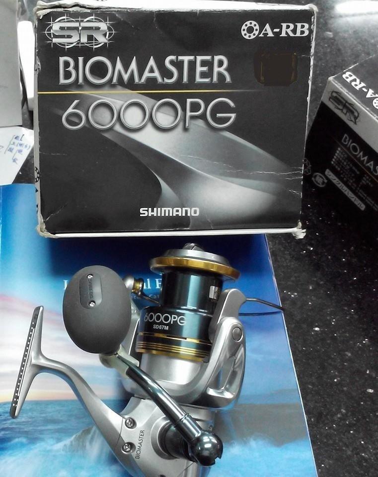 {龍哥釣具2} SHIMANO 08 BIOMASTER 6000PG 海水專用 捲線器