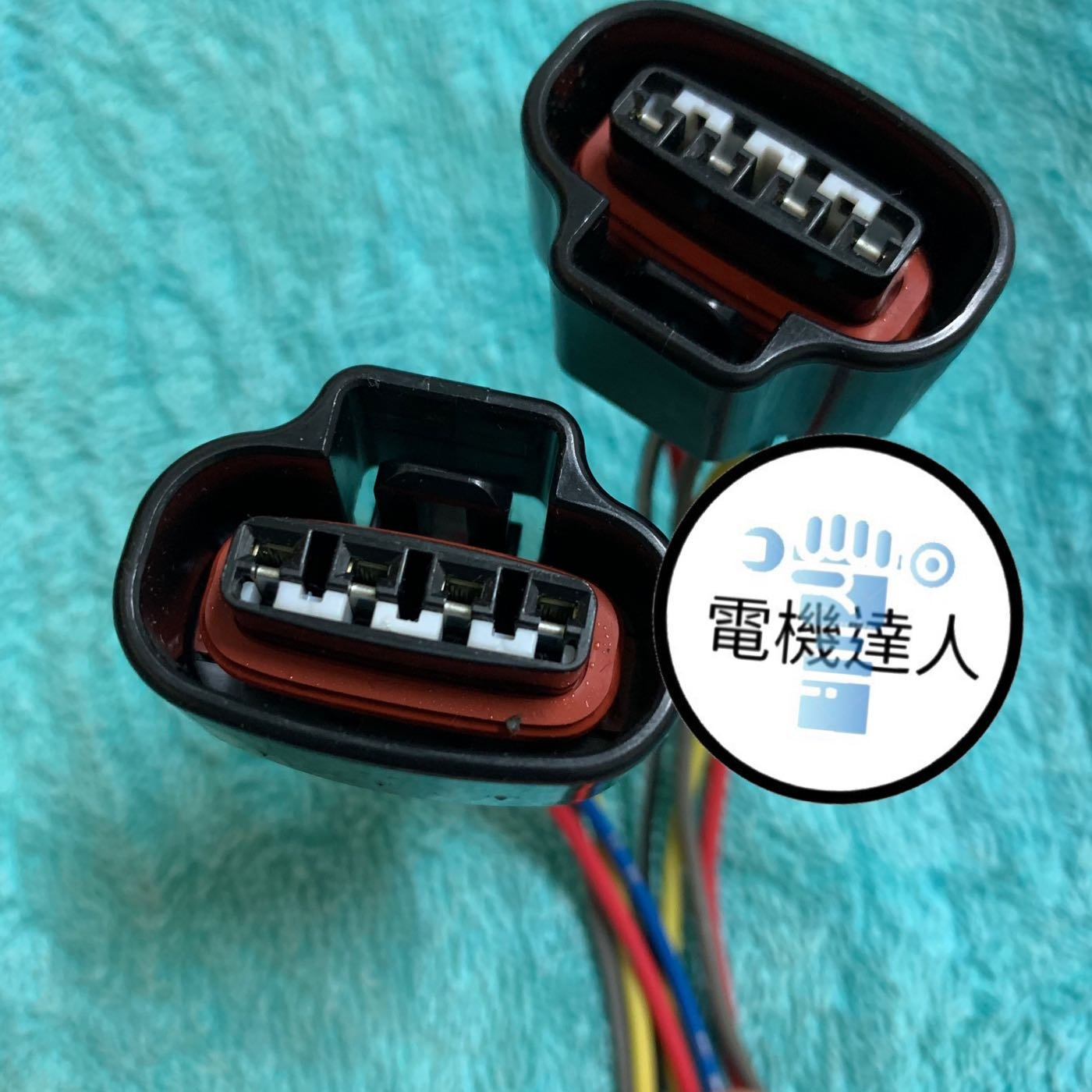 《電機達人》豐田 TERCEL COROLLA EXSIOR CAMRY 點火線圈插頭 考耳插頭 分電器插頭 分電盤總成插頭 線組