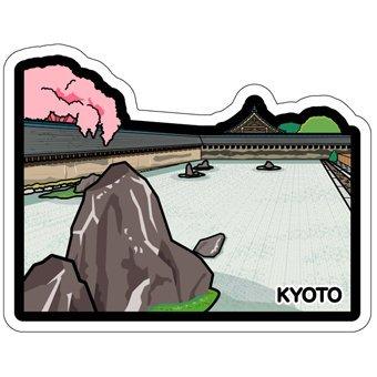 Ariel #x27 s Wish-2016 地域限定 款-京都郵便局 -第六彈京都府龍安寺石庭和服明信片卡片- 絕版品