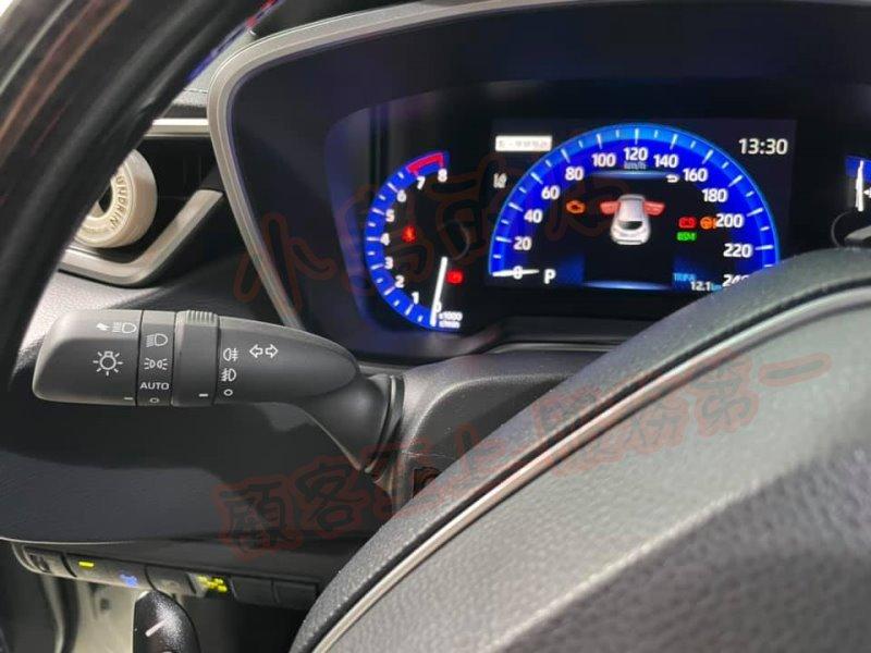 (小鳥的店)豐田 RAV4 5代 COROLLA CROSS 原廠頭燈自動開啟AUTO 復原可關閉 原廠撥桿
