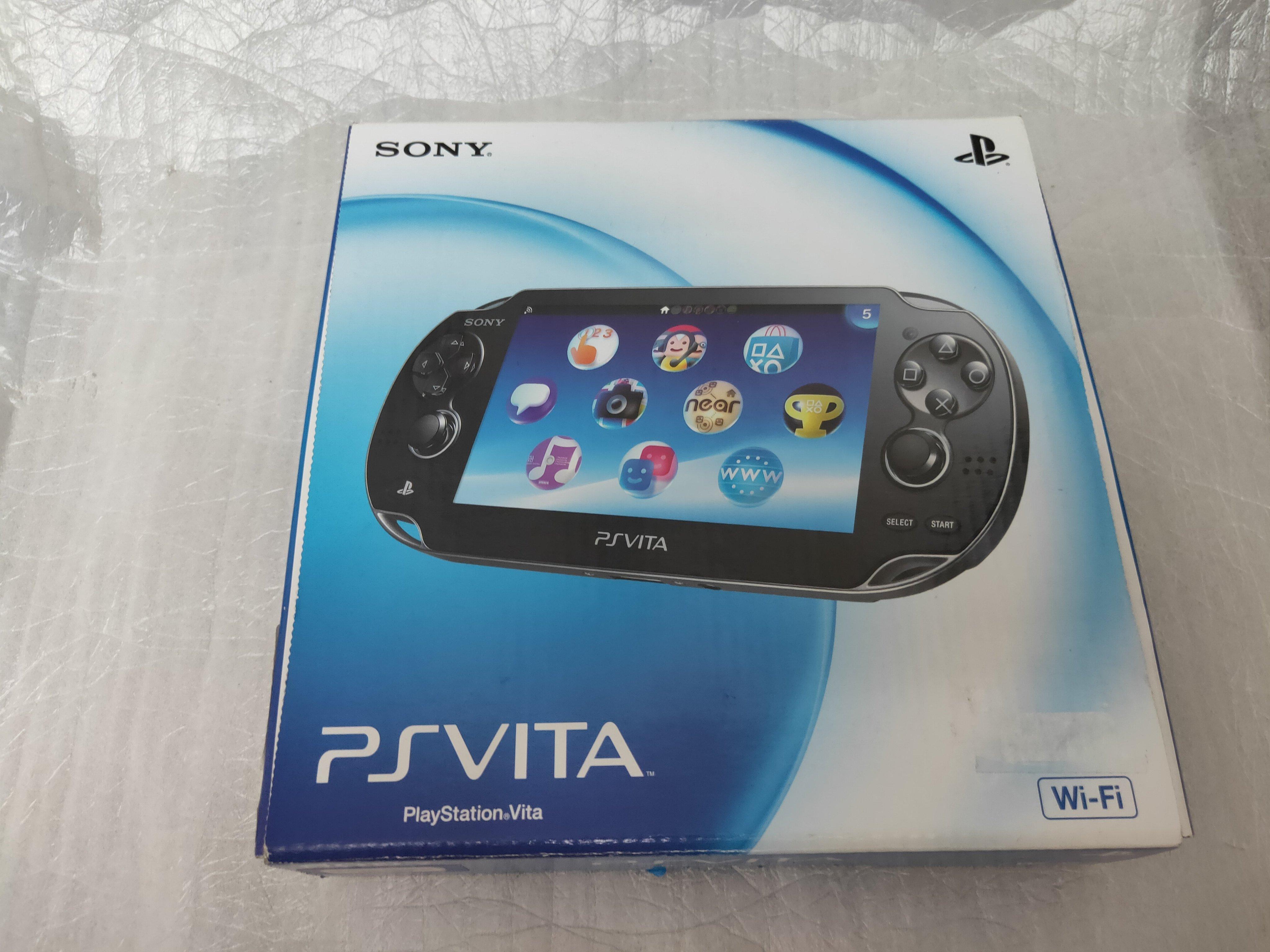 【電腦零件補給站】Sony PlayStation Vita PCH-1000 遊戲機  5英吋多點觸控螢幕 9成新