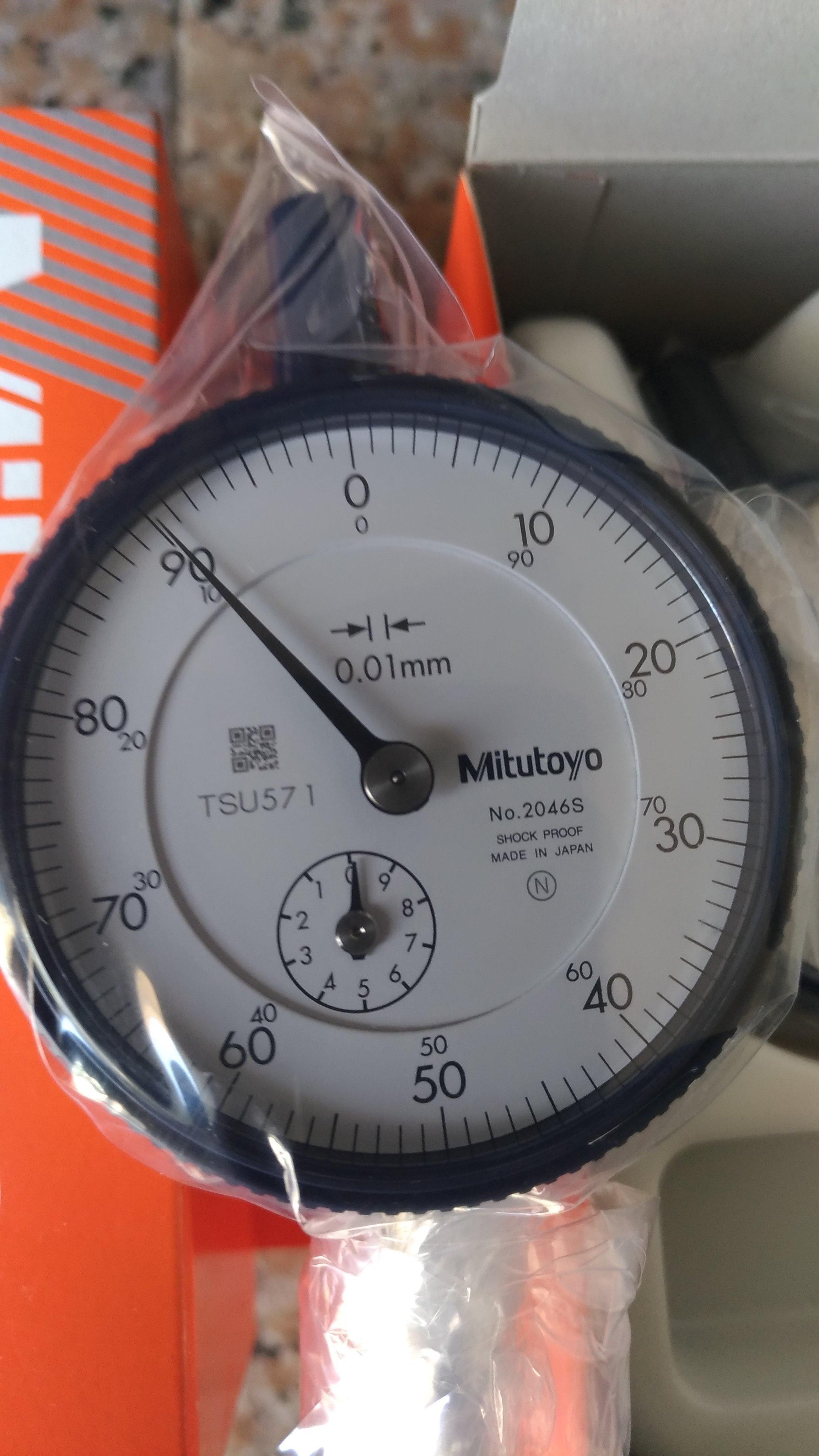 三豐 Mitutoyo百分表2046S 槓桿表513-404C  附錶卡尺 TESA 附表卡尺