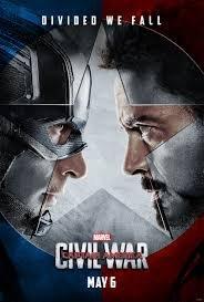 美國隊長3:英雄內戰Captain America: Civil War(復仇者聯盟)- 美國雙面電影海報(2016年)
