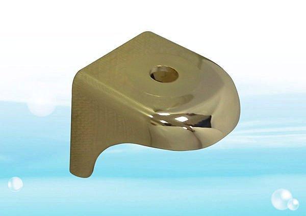 【水易購台南永康店】流線型鵝頸吊片-金色 淨水器鵝頸龍頭 《RO、淨水器週邊耗材 》