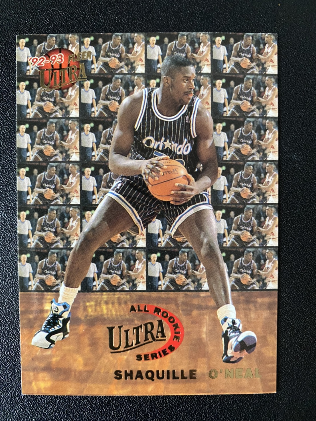 Shaquille ONeal RC 1992-93 Ultra All Rookie Team #7