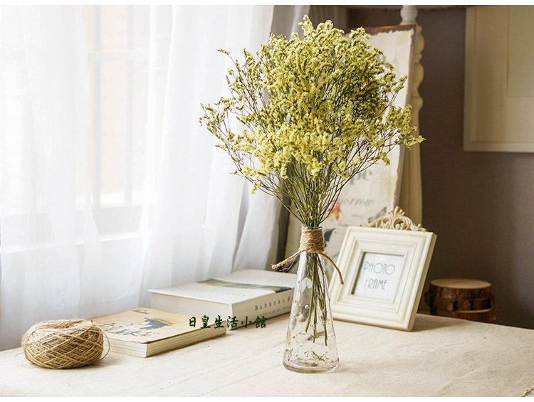 【日皇】zakka麻繩 花瓶 日式簡約麻繩玻璃瓶 玻璃花瓶 拍攝道具 婚禮小物 家居婚慶裝飾