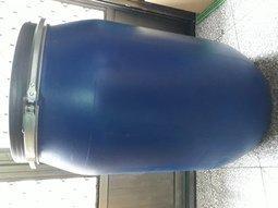 120公升藍色桶塑膠桶儲水桶廚餘桶垃圾桶園藝桶萬用桶特價一個200元
